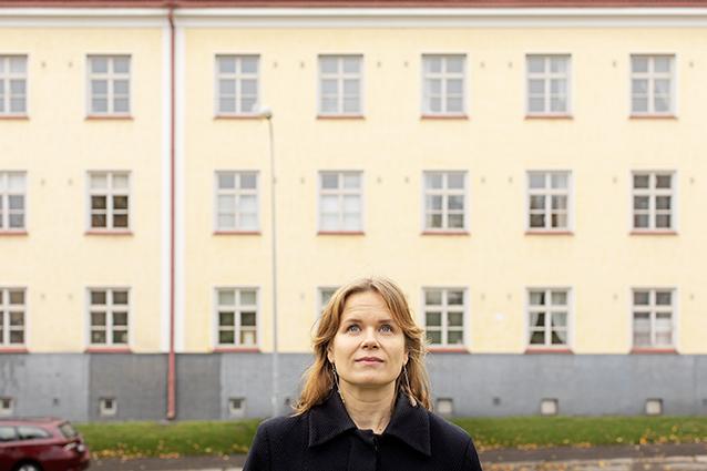 Elokuvaohjaaja Selma Vilhunen, KUVA ©Riitta Supperi